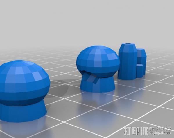坦克世界 迷你机器人 3D模型  图11