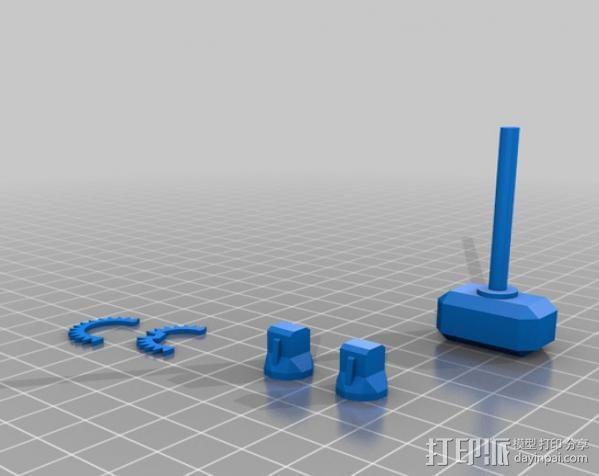 坦克世界 迷你机器人 3D模型  图10