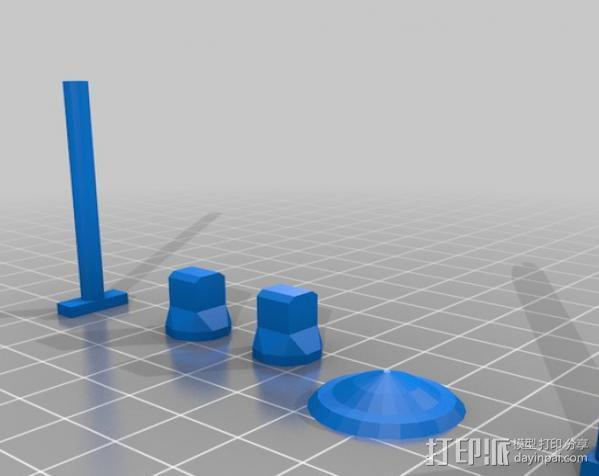 坦克世界 迷你机器人 3D模型  图15