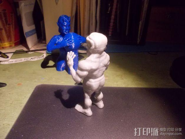 魔像石人 3D模型  图2