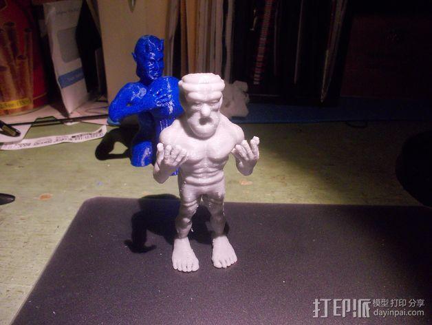 魔像石人 3D模型  图6