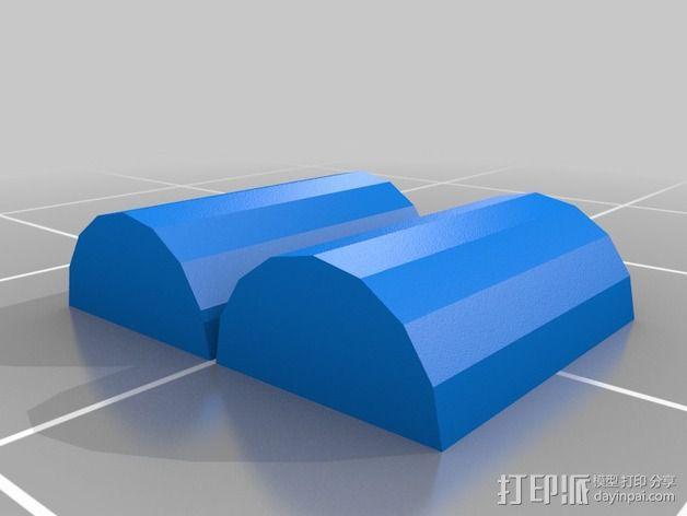 Jonathan Danforth人像雕塑 3D模型  图4