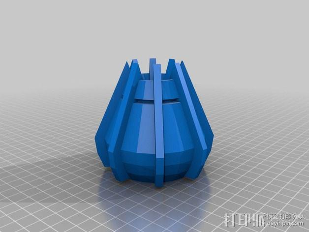 戴立克机器人之眼 3D模型  图1