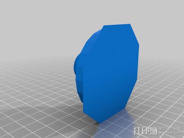戴立克机器人之眼 3D模型  图2
