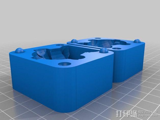 Professor 玩偶模具  3D模型  图2