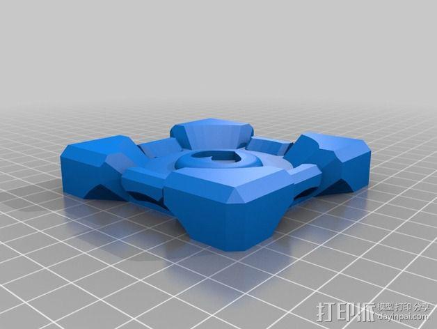 方块传送门 3D模型  图2