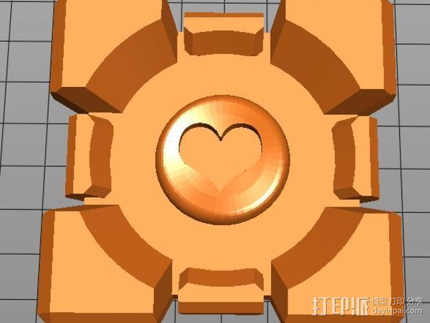 方块传送门 3D模型  图1