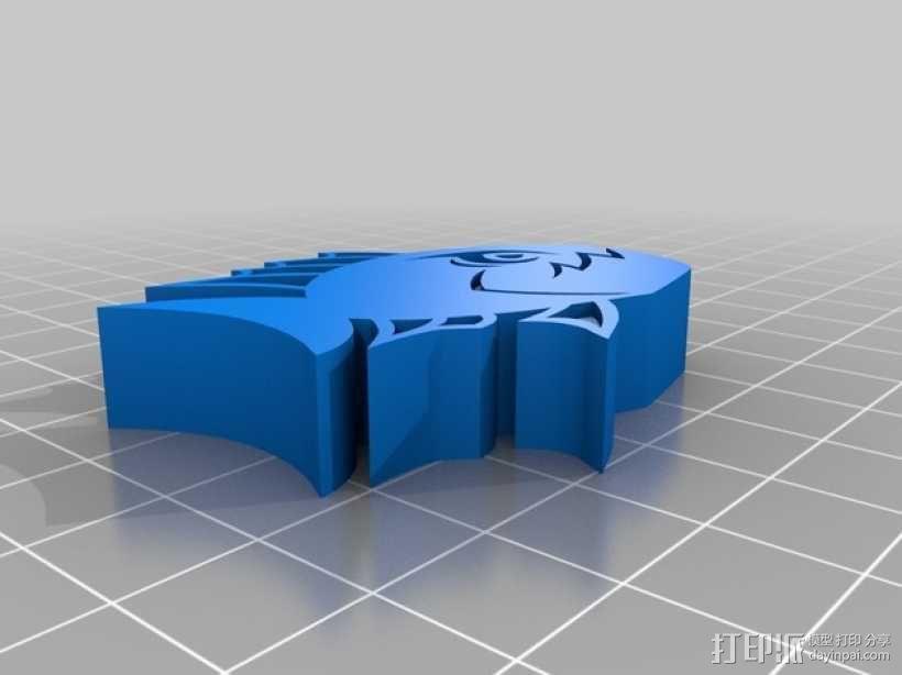 愤怒的鱼 3D模型  图2