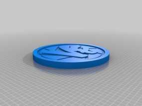 Vlogger交易会硬币徽章 3D模型