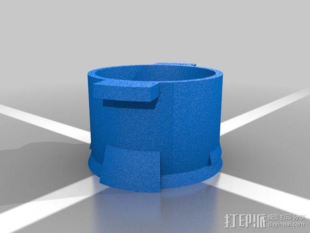 Estes MX导弹 3D模型  图3