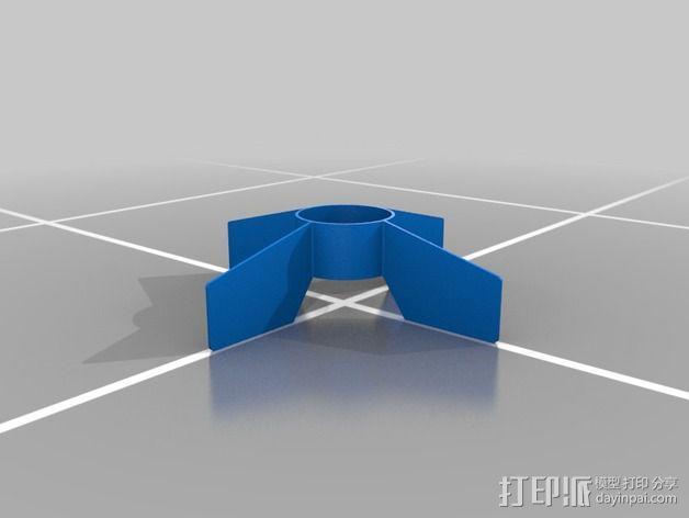 Estes MX导弹 3D模型  图2