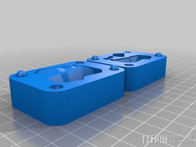 低面数皮卡丘模具 3D模型  图2