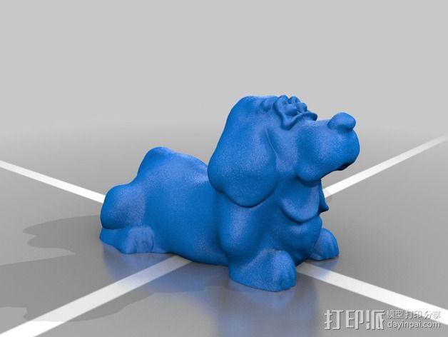 大猎犬 3D模型  图3