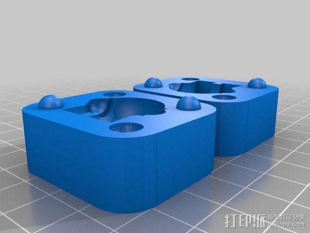Marvin玩偶模具 3D模型  图2