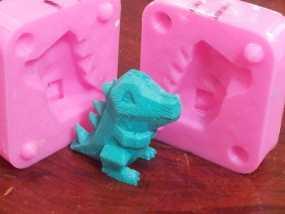 Totodile 小锯鳄模具 3D模型