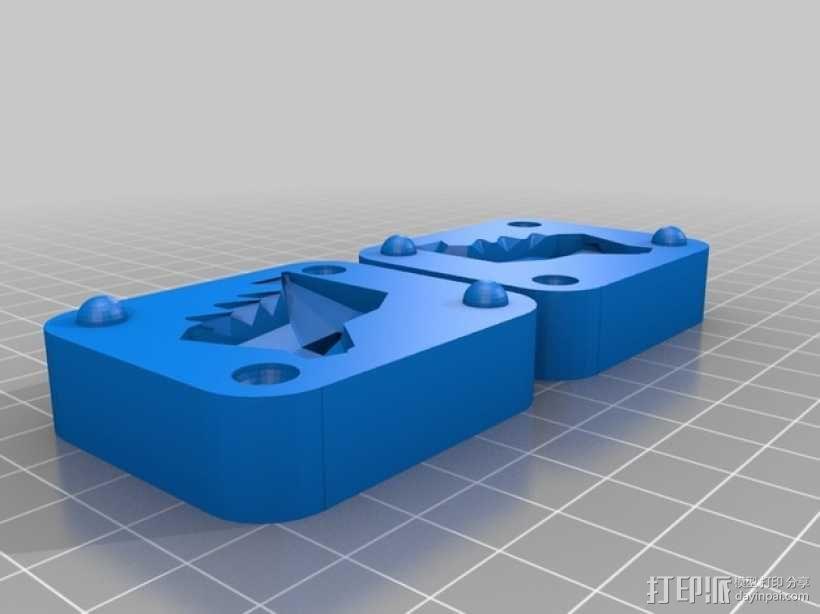 Totodile 小锯鳄模具 3D模型  图2