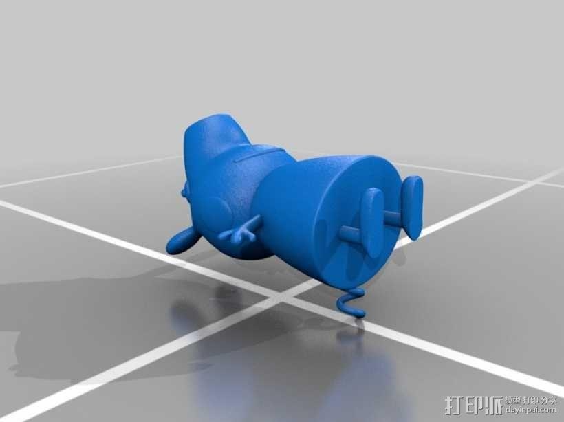 粉红小猪妹 3D模型  图4