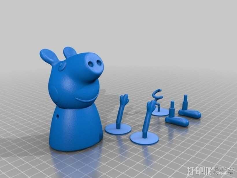 粉红小猪妹 3D模型  图5