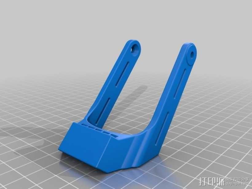 Talon Hand 轻型长手套 护手手套 3D模型  图5