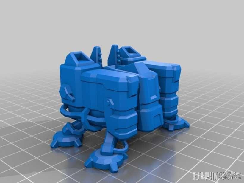 星际争霸 训练营 3D模型  图1