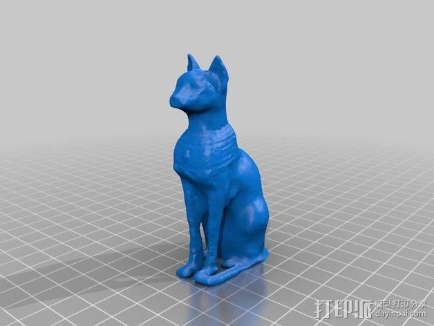 星际之门 猫 3D模型  图9