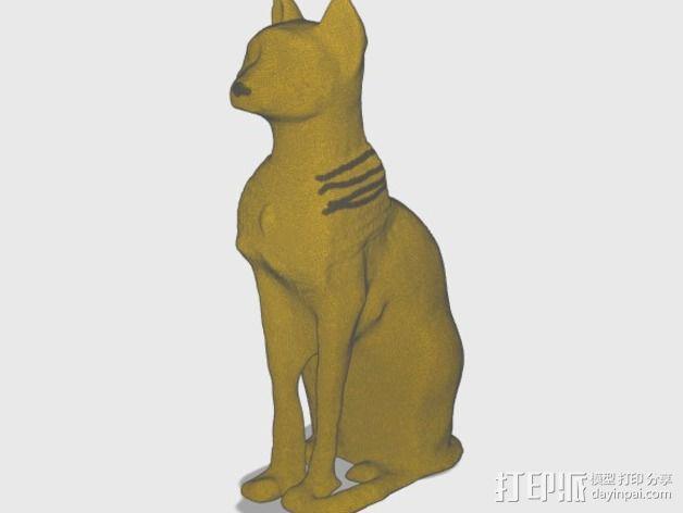 星际之门 猫 3D模型  图12