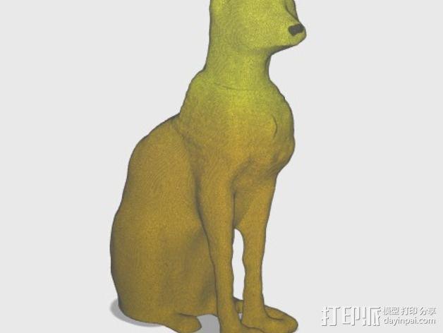 星际之门 猫 3D模型  图13