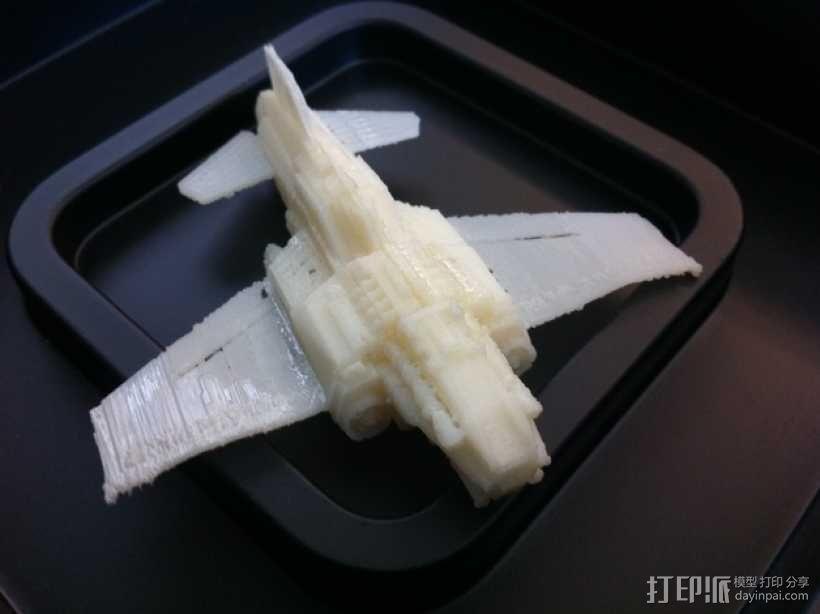 Thunder Lightning喷气式飞机 3D模型  图10