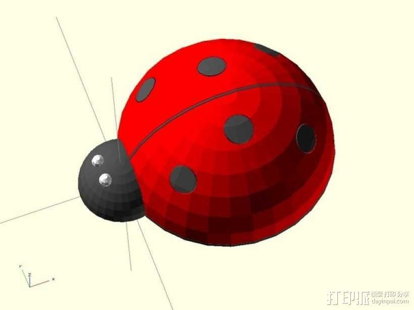 瓢虫  3D模型  图3