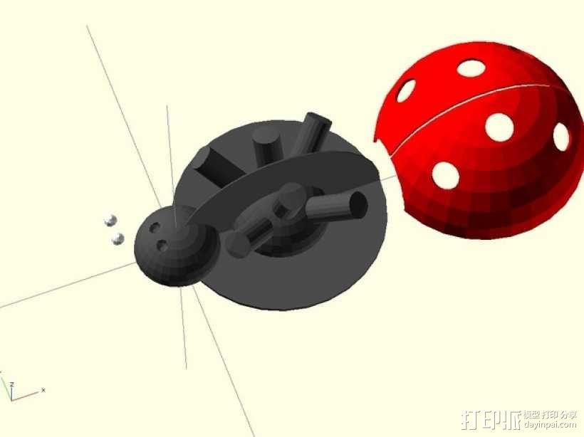 瓢虫  3D模型  图5