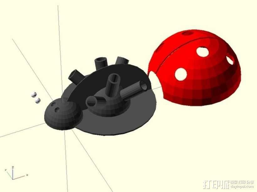 瓢虫  3D模型  图4