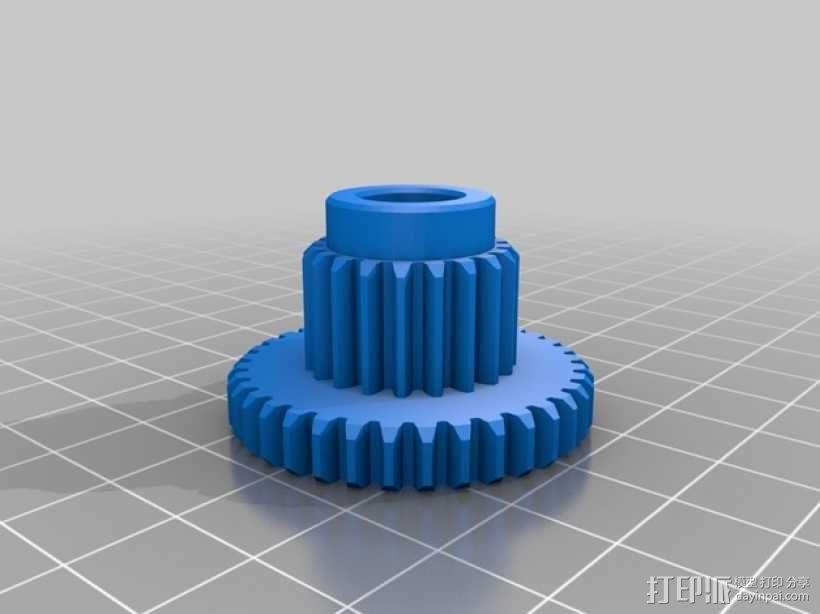 遥控车底盘 3D模型  图3