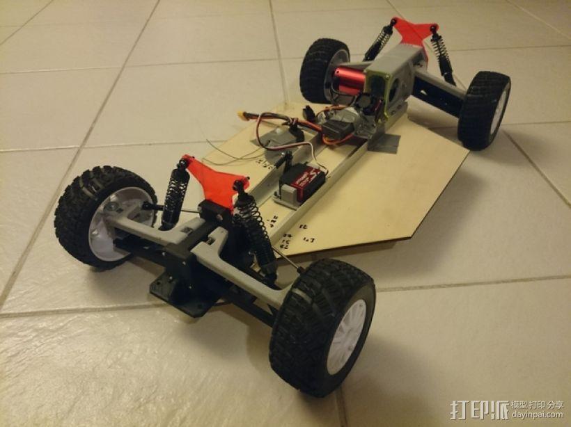遥控车底盘 3D模型  图6