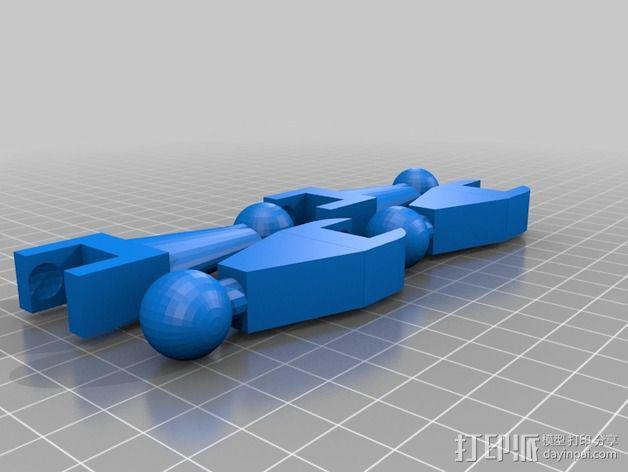 Marwen机器人 3D模型  图3