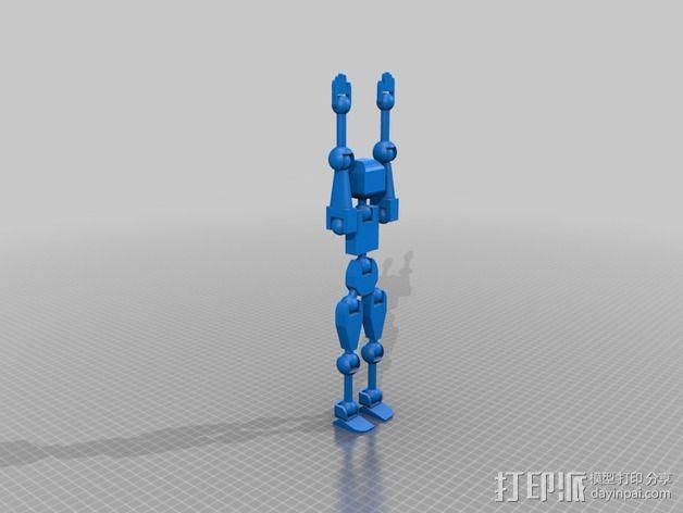 Marwen机器人 3D模型  图6