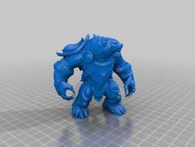 弗里贝尔熊 3D模型