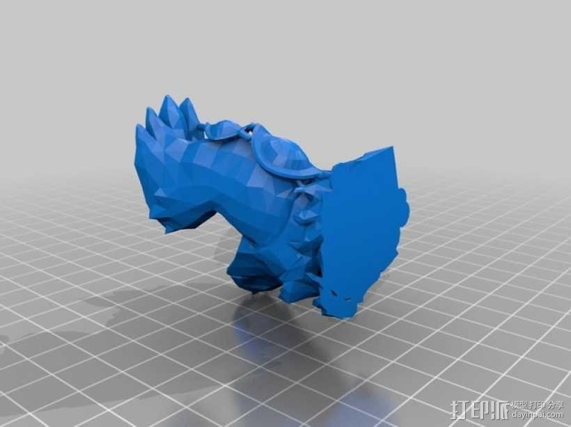 弗里贝尔熊 3D模型  图4