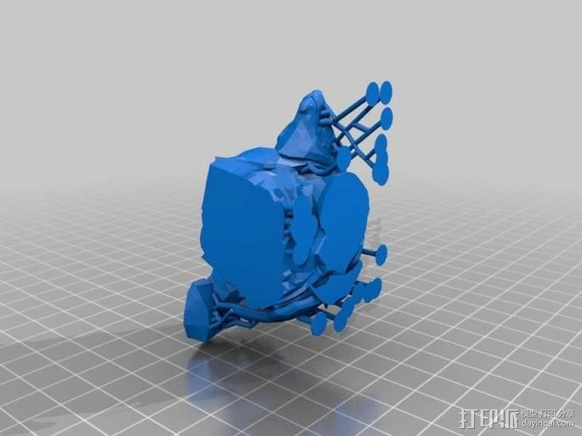弗里贝尔熊 3D模型  图5