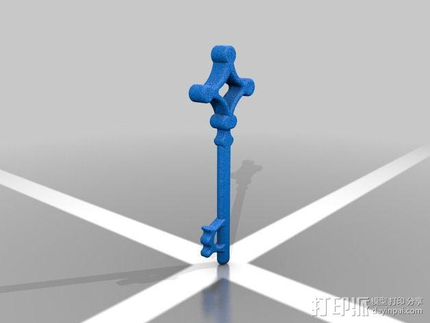 进击的巨人 地下室钥匙 3D模型  图2
