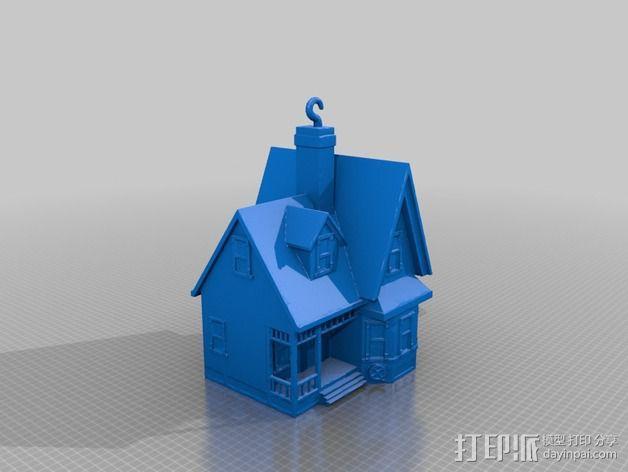 卡尔的房子 3D模型  图2