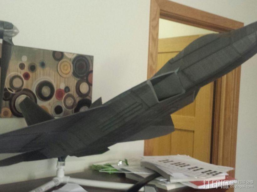 F-22猛禽战斗机 3D模型  图1