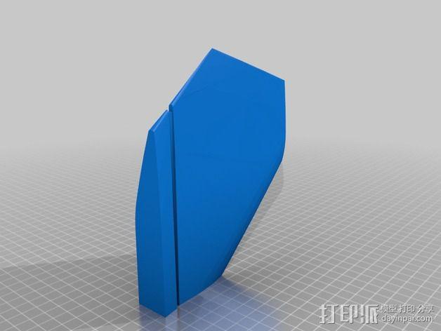 F-22猛禽战斗机 3D模型  图4