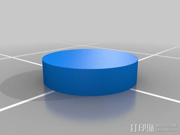 变形金刚汽车人车灯 3D模型  图2
