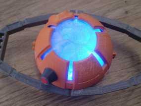 变形金刚汽车人车灯 3D模型