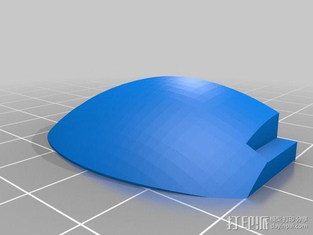 变形金刚汽车人车灯 3D模型  图3