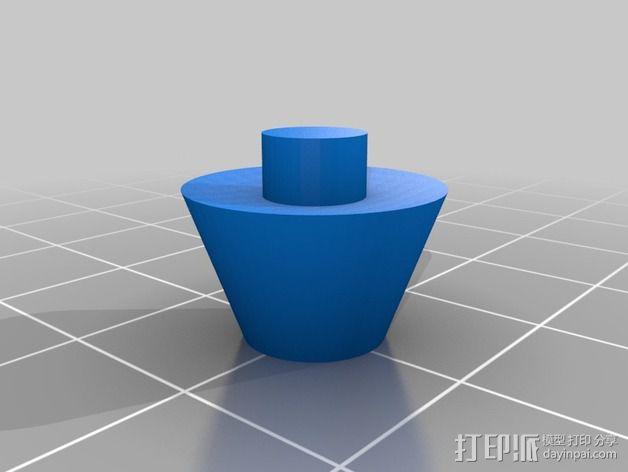 变形金刚汽车人车灯 3D模型  图5