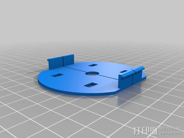 变形金刚汽车人车灯 3D模型  图4