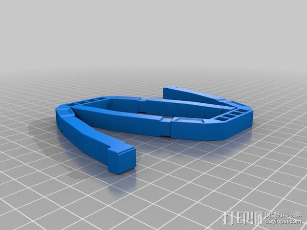 变形金刚汽车人车灯 3D模型  图6