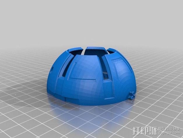 变形金刚汽车人车灯 3D模型  图9