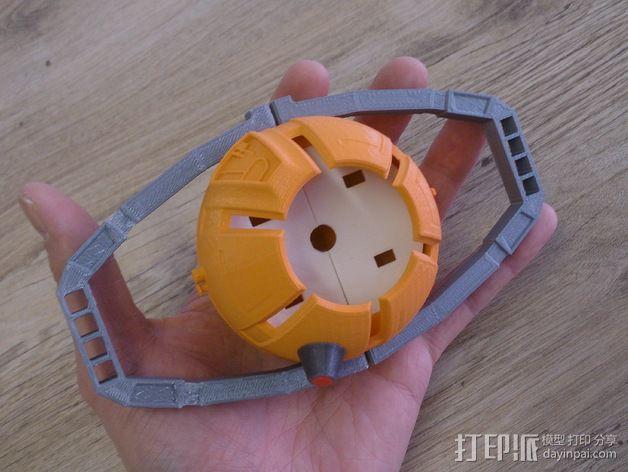 变形金刚汽车人车灯 3D模型  图10